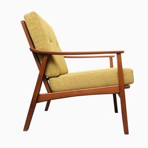 Mid Century Yellow Armchair, 1960s