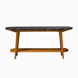 Occasional Table by Troels Grum Schwendsen for Poul Jeppesen, Denmark, 1940s
