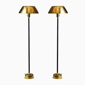 Senator Floor Lamps by Lisa Johansson-Pape for Orno, Sweden, 1950s, Set of 2