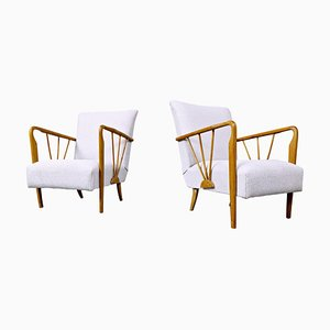 Armchairs in Style of Paolo Buffa, 1950s, Set of 2