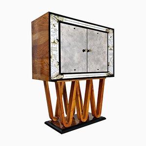 Dry Bar Cabinet by Osvaldo Borsani, 1940s