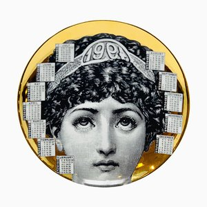 Calendar Porcelain Plate by Piero Fornasetti, 1994