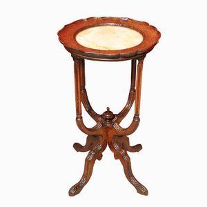 Art Nouveau Onyx Round Table