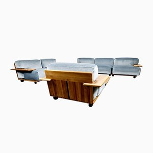 Pianura Living Room Set by Mario Bellini for Cassina, 1970s