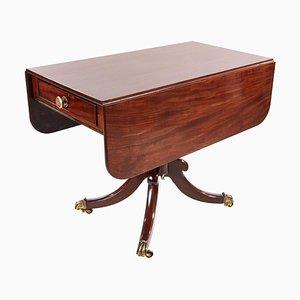 Antiker Regency Pembroke Tisch aus Mahagoni