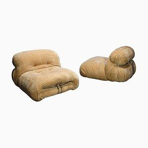 Soriana Stühle von Afra & Tobia Scarpa für Cassina, Italien, 1970er, 2er Set