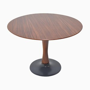 Beech Round Dining Table, 1970s