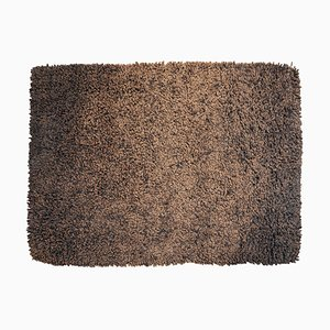 Niederländischer braun-schwarzer Teppich von Carpet Edition, 1970er