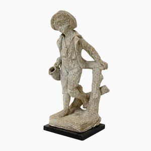 Garden Sculpture, Boy with a Water Pitcher, 1950s
