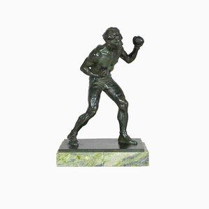 Louis Alliot, Boxer, 1930s, Bronze