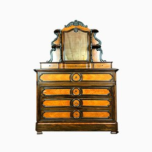 Napoleon III Marquetry Rosewood Chest of Drawers