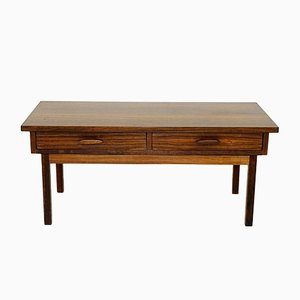 Swedish Rosewood Console Table, 1960s