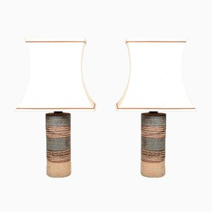 Table Lamps by Tue Poulsen, 1960s, Set of 2