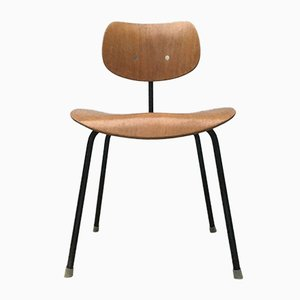 Mid-Century Early German SE 68 Chair by Egon Eiermann for Wilde+Spieth