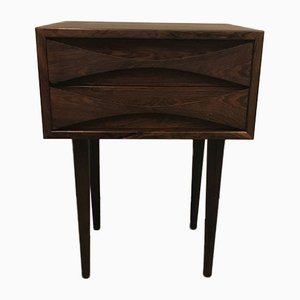 Rosewood Nightstand from Niels clausen, 1960s