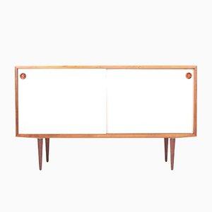 Weißes Palisander Sideboard von Poul Hundevad für Hundevad & Co., 1960er