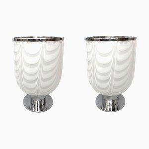 Italienische Tischlampen, 1970er, 2er Set
