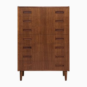 Mid-Century Danish Teak Chest of 7-Drawers from Westergaard, 1960s