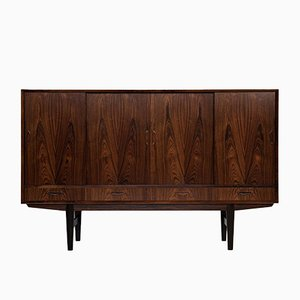 Mid-Century Danish Rosewood Highboard with Bar, 1960s