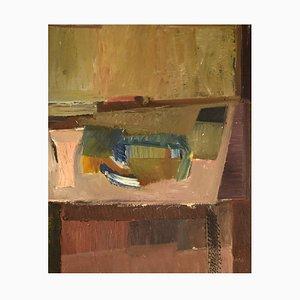 Willard Lindh, Modernist Still Life, Oil on Canvas, 1960s