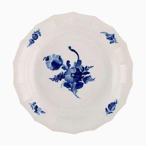 Royal Copenhagen Blue Flower Angular Low Bowl No. 8529, 1950s
