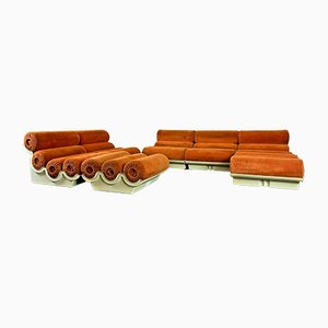 Modular Sofa, 1960s, Set of 7