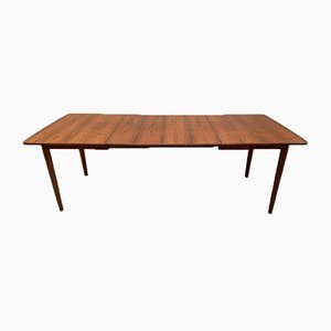 Rosewood Extendable Dining Table from Gustav Bahus, 1960s