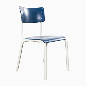 Blue Stacking Dining Chair from Thonet, Austria, 1970s