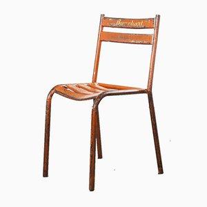 Red Metal Toledo Outdoor Chairs, 1950s, Set of 10