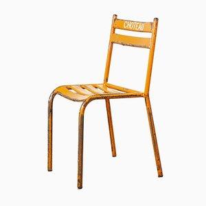 Red Orange Toledo Outdoor Chairs, 1950s, Set of 24