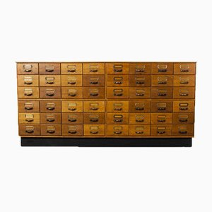 Tall Multi Drawer Chest of Drawers, 1940s