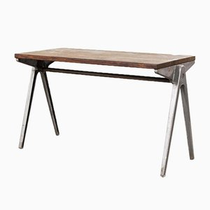 Stacking School Table by James Leonard for ESA, 1950s