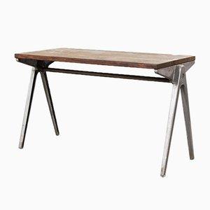 Stapelbarer Schultisch von James Leonard für ESA, 1950er