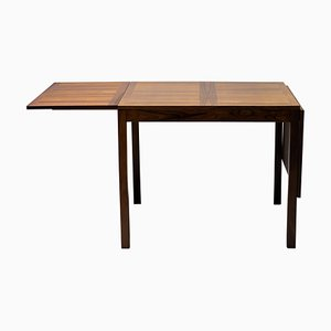 Danish Rosewood Drop Leaf Dining Table from Vejle Stole & Møbelfabrik, 1970s
