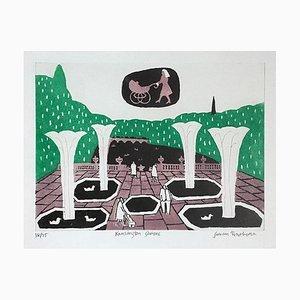 Julian Trevelyan Kensington Gardens, (1969)