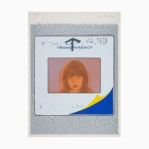 Trasparenza di Joe Tilson, istantanea, (1970)