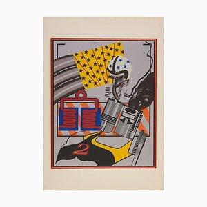 Benutzerdefinierte Peter Phillips Gemälde Nr. 6, (1965)