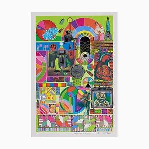 Eduardo Paolozzi Bash (lindgrün), (1971)