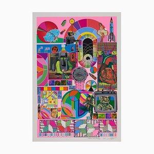 Eduardo Paolozzi B.a.s.h (neon Pink), (1971)