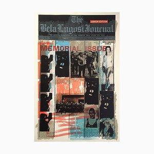 Joe Tilson, Bela Lugosi Journal B, 1969