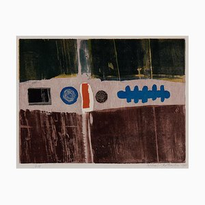 Michael Rothenstein Blue Circle (framed), (1961)