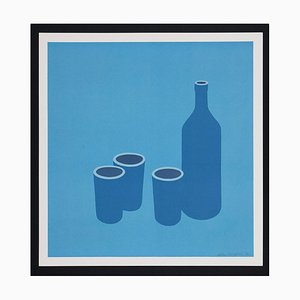 Patrick Caulfield Bottle and Cups, (1966)