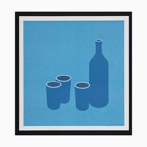 Patrick Caulfield Flasche und Tassen, 1966