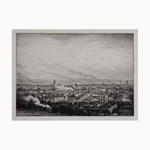 Crw Nevinson London from Parliament Hill, (1923)