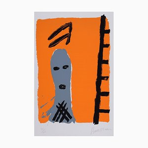 Bruce Mclean Untitled (man With Ladder), (1984)