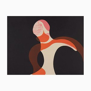 Howard Hodgkin Girl at Night, (1966)