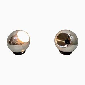 Tischlampe Modell 586 von Gino Sarfatti für Arteluce, 1960er, 2er Set