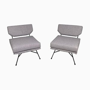 Elettra Lounge Chairs by BBPR for Arflex, Italy, 1954, Set of 2