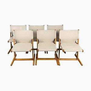 Italian Nina & Santamaria Chairs by Piero De Martini for Cassina, 1977, Set of 6