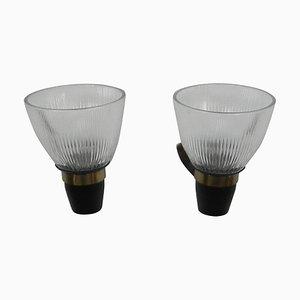 LP5 Wandlampen von Ignazio Gardella für Azucena, 1950er, 2er Set